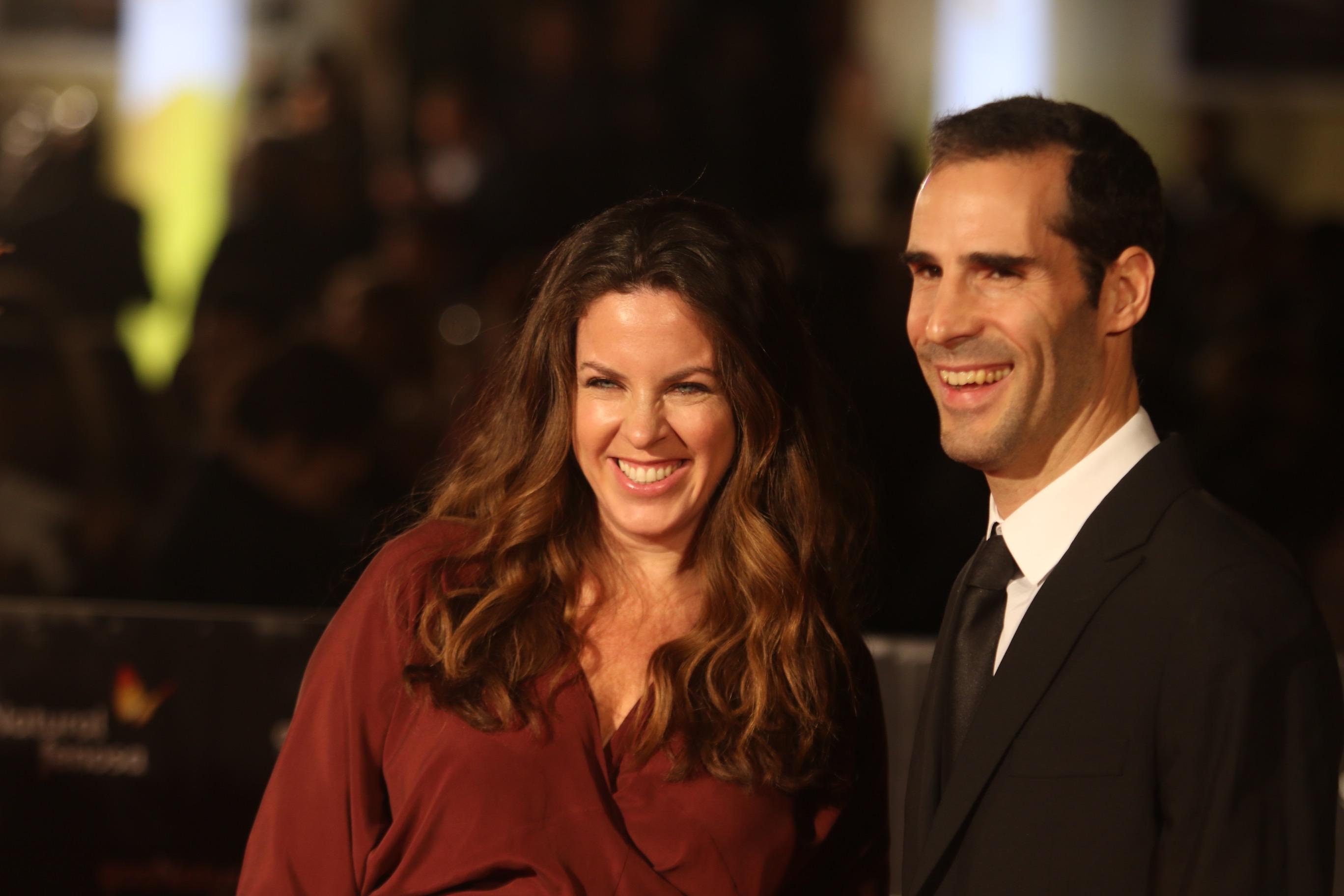 Entrega del Premio Eloy de la Iglesia - La Opinión de Málaga a la directora Claudia Llosa,sobrina de Vargas LLosa en el 20 festival de cine de Málaga