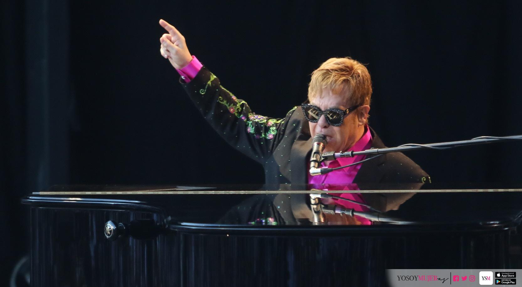 July 20, 2017 (Malaga, Marbella, Andalucia) - ..Sir Elton John .