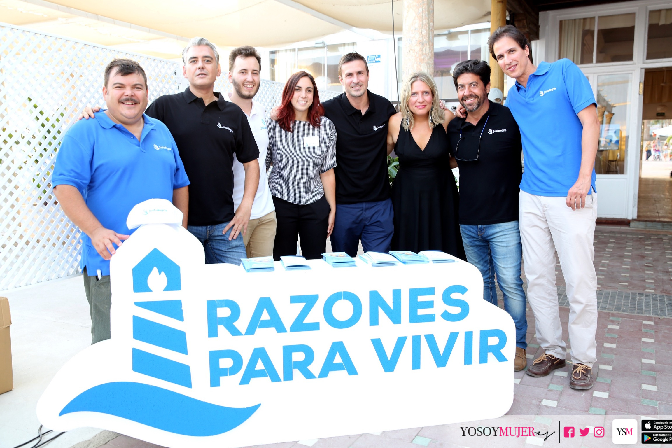 Los organizadores. Fotografía: Enrique González de Gor Sánchez