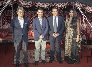 Javier Porcuna, José Bernal, Mesheal Abdelmohsen Alsaed y Abrar Al Masoud
