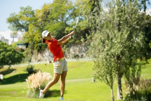 20/09/2016 Ladies European Tour 2016: Andalucía Costa del Sol Open de España Femenino, Aloha Golf Club, Marbella, Spain 22-25 Sept. Marta Sanz of Spain during a practice round. Credit: Tristan Jones