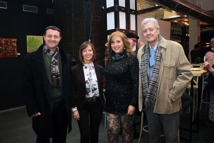 3 Francisco Hernández, Gema Carrasco, Lola Ramírez y Paco Malavé