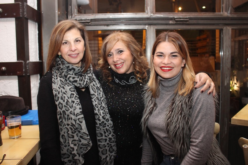 Lola Ramírez con familiares