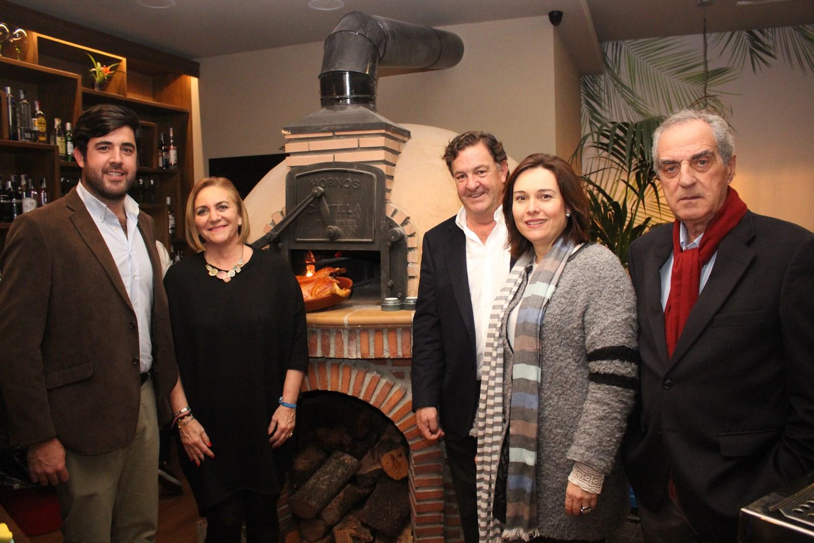 1 Jorge Berzosa, Leonor García Agua, Ramón Berzosa, María del Mar Martín Rojo y Luis Merino