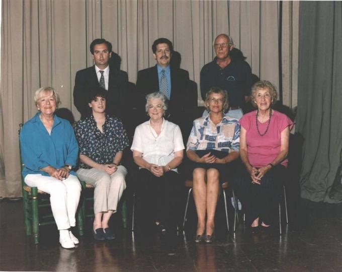 1992 1ª junta directiva de la Asociacion Cudeca