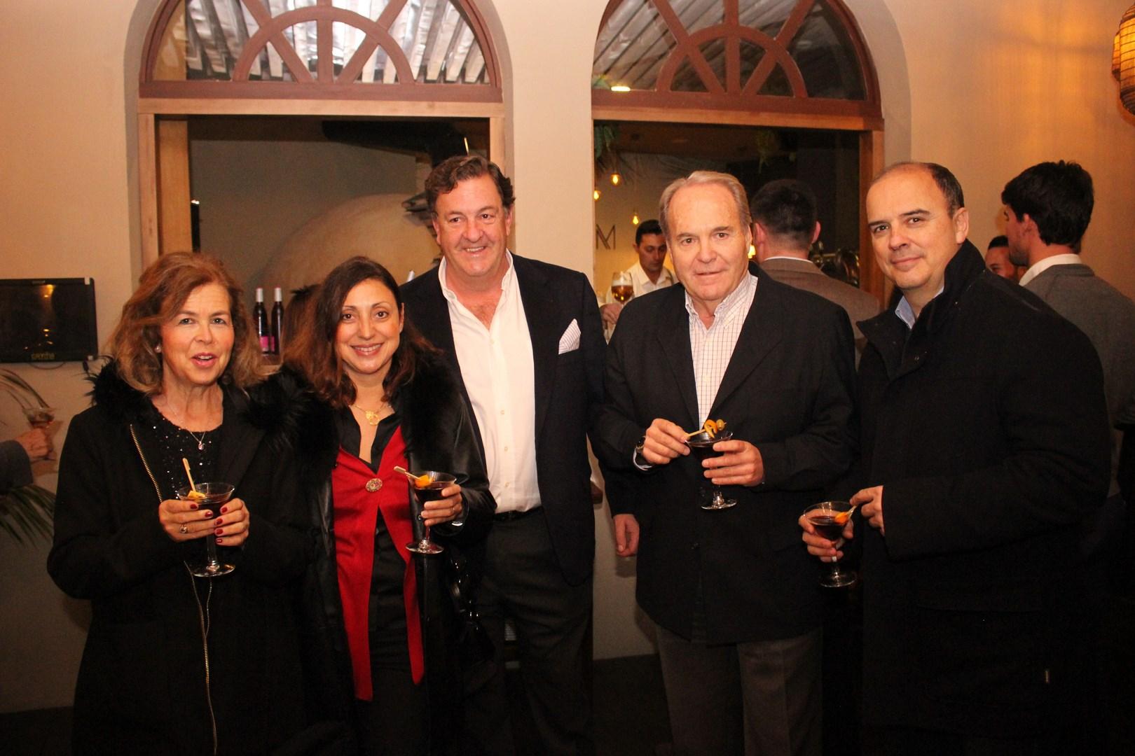 8 Mari Cruz Cánovas, Elisa Sanchez, Ramón Berzosa, Carlos Abascal y Fernando Urdiales