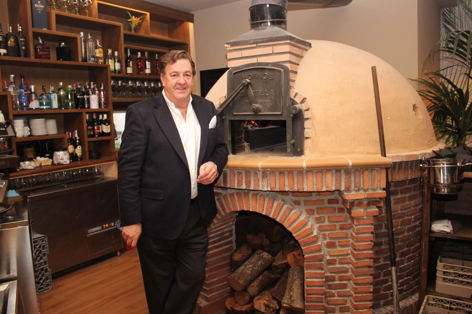 Ramón Berzosa en el Restaurante Verum