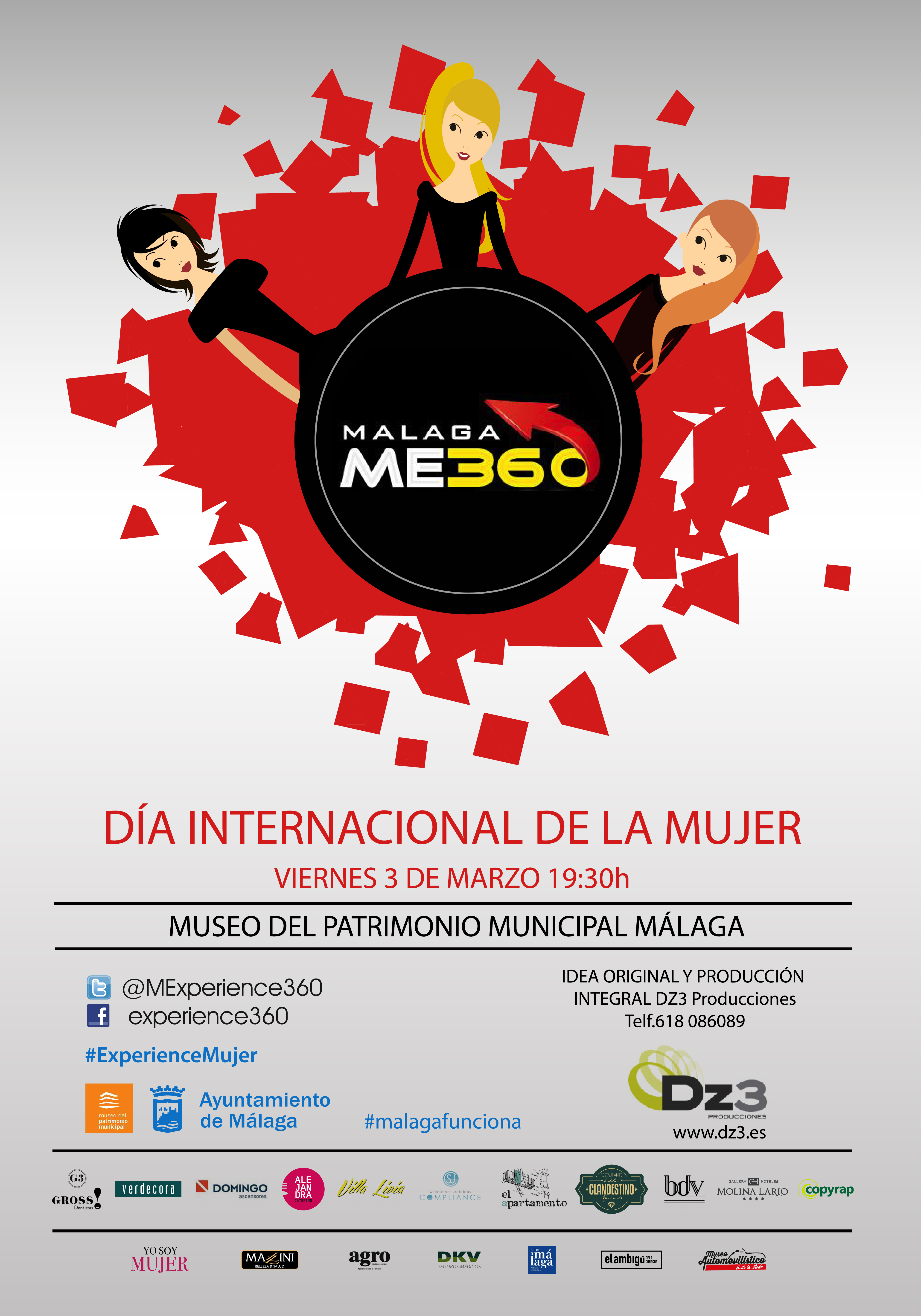 cartel Experience360 MUJERES