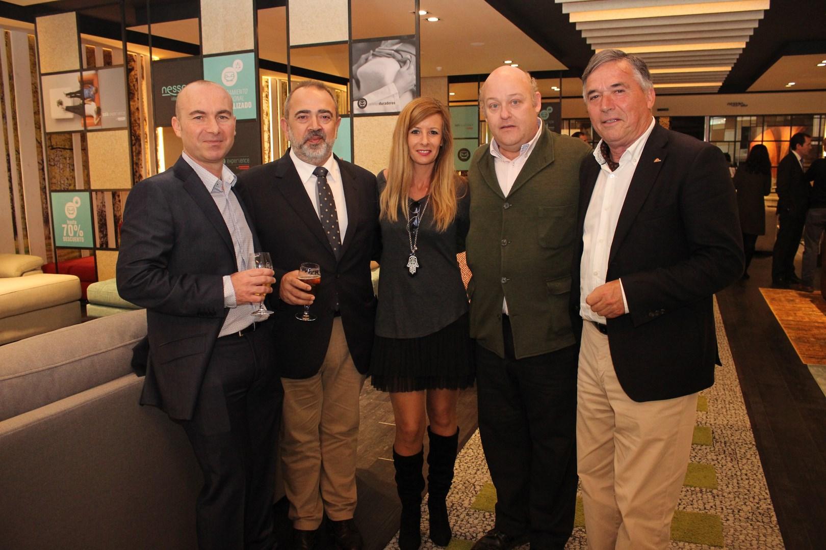 Ana Porras con Jacobo Guerrero, Pepe Cobos y otros invitados