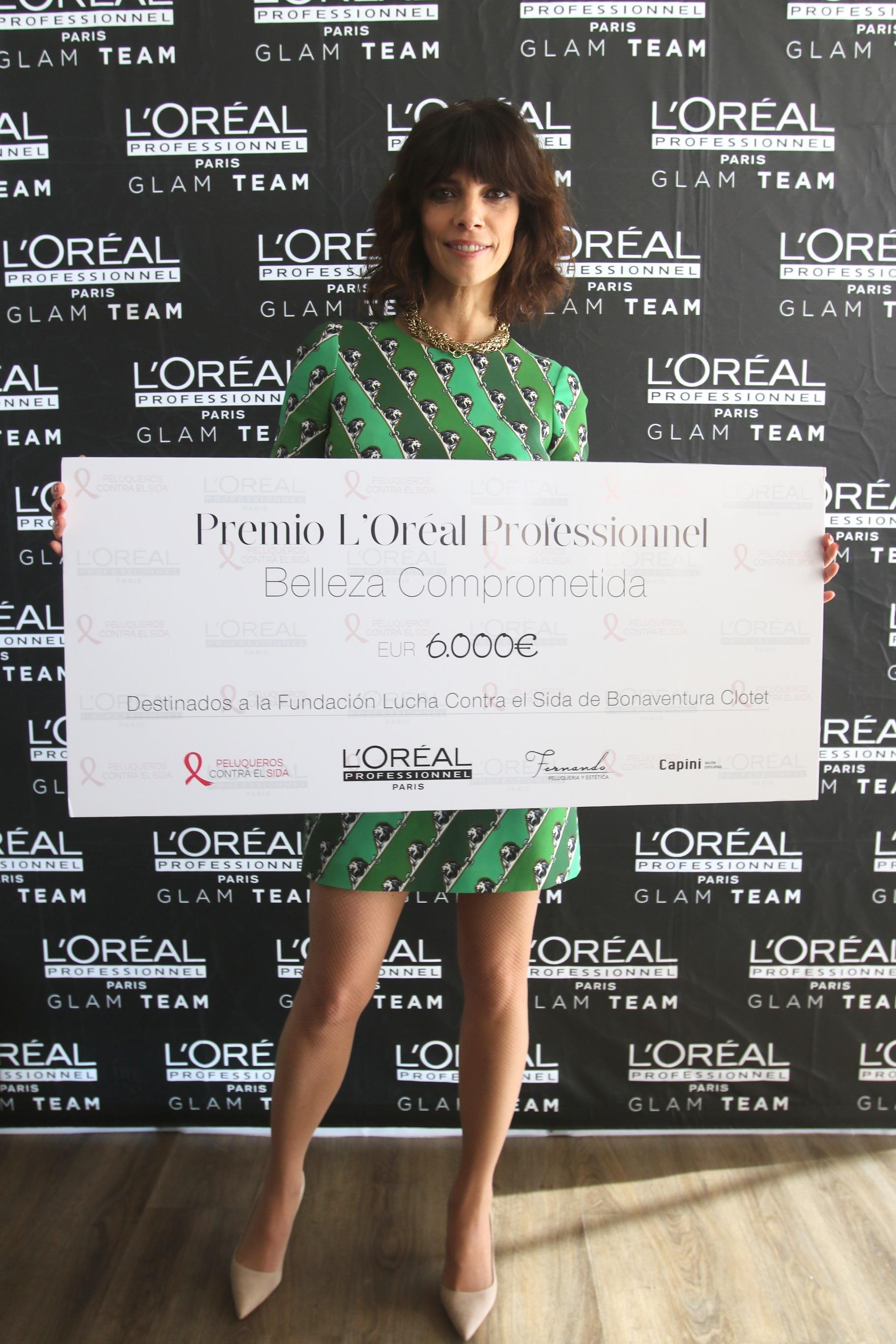 PREMIO BELLEZA COMPROMETIDA - L'ORÉAL PROFESSIONNEL