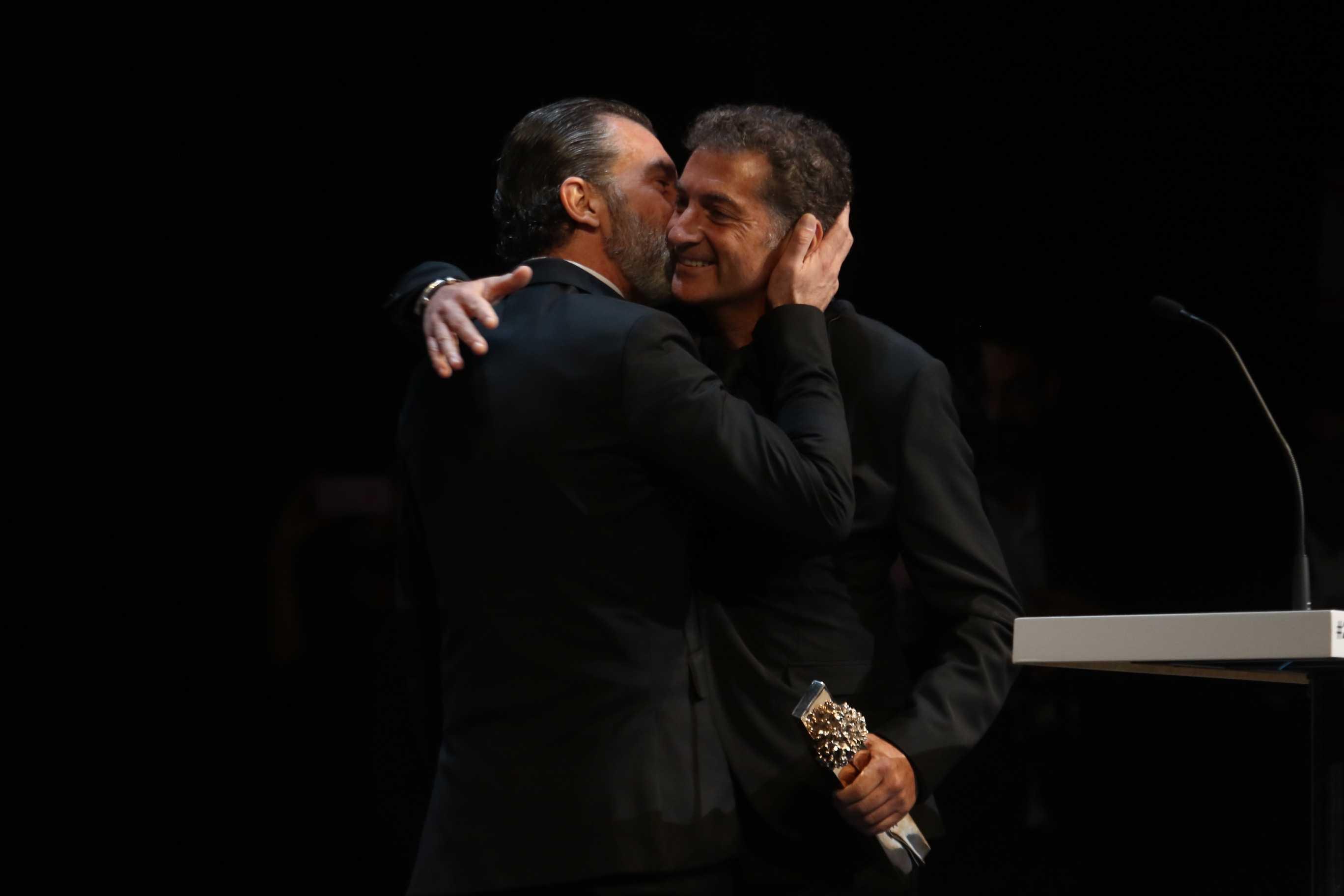 Antonio Banderas recibe la biznaga de oro Honorifica en el festiva de cine de Malaga