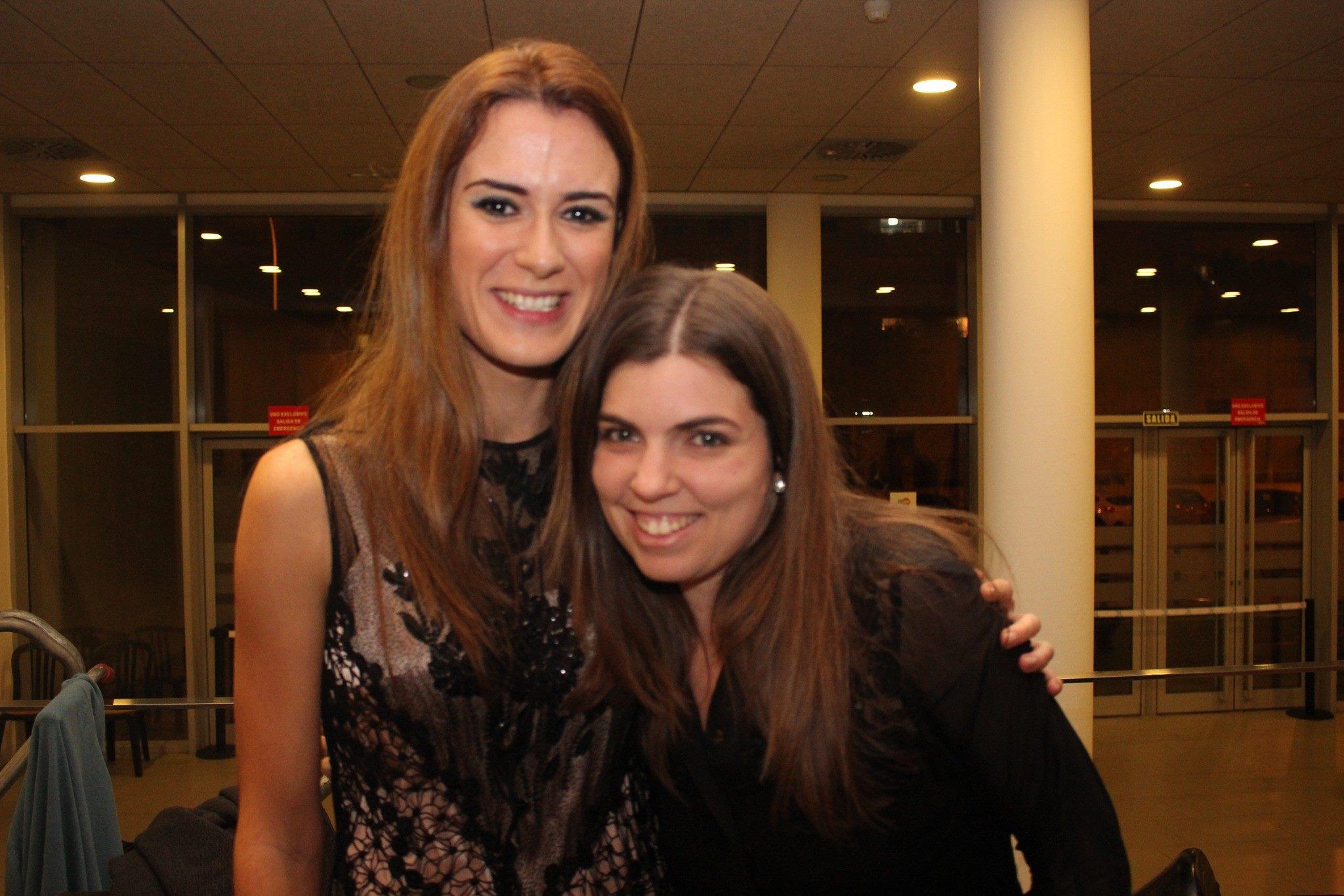 Elisa Urrestarazu y Alicia Ruiz