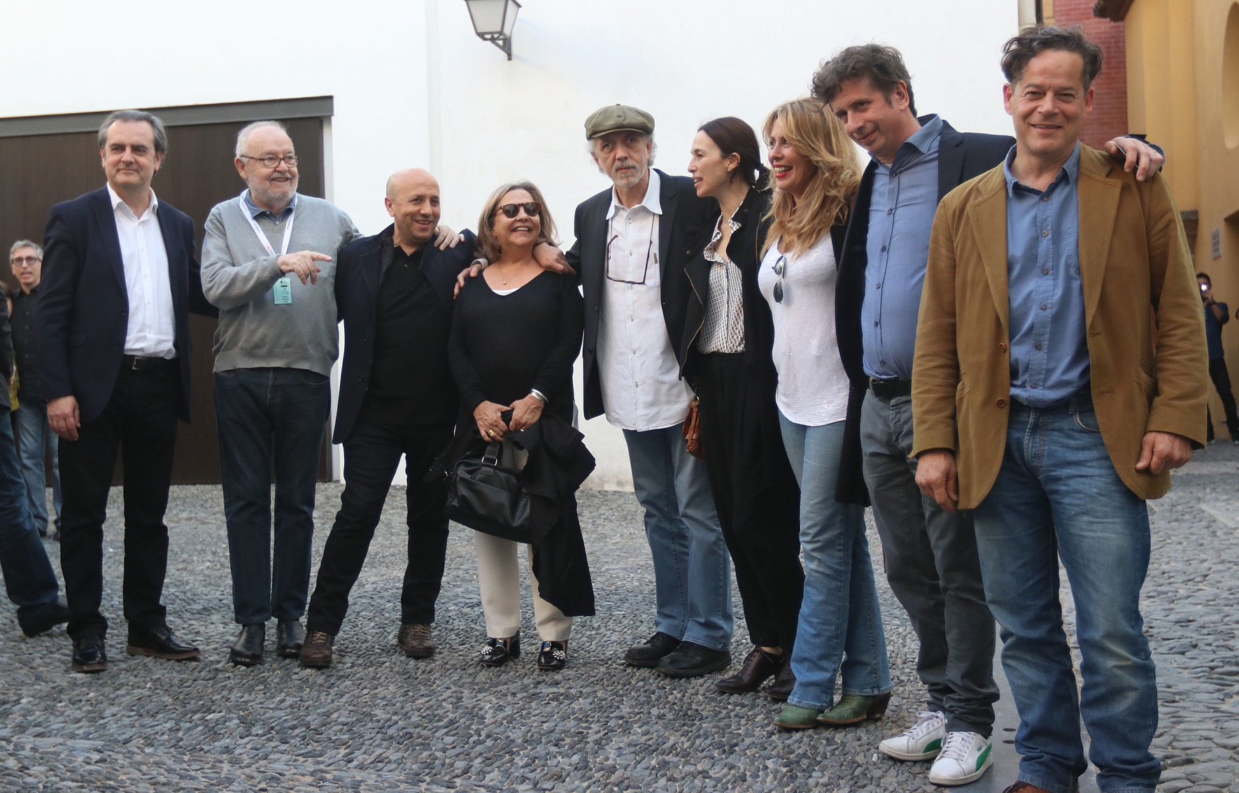 Fernando Trueba conmemorando los 25 años de Belle Epoque en el 20 edición del festival de cine Español de Málaga