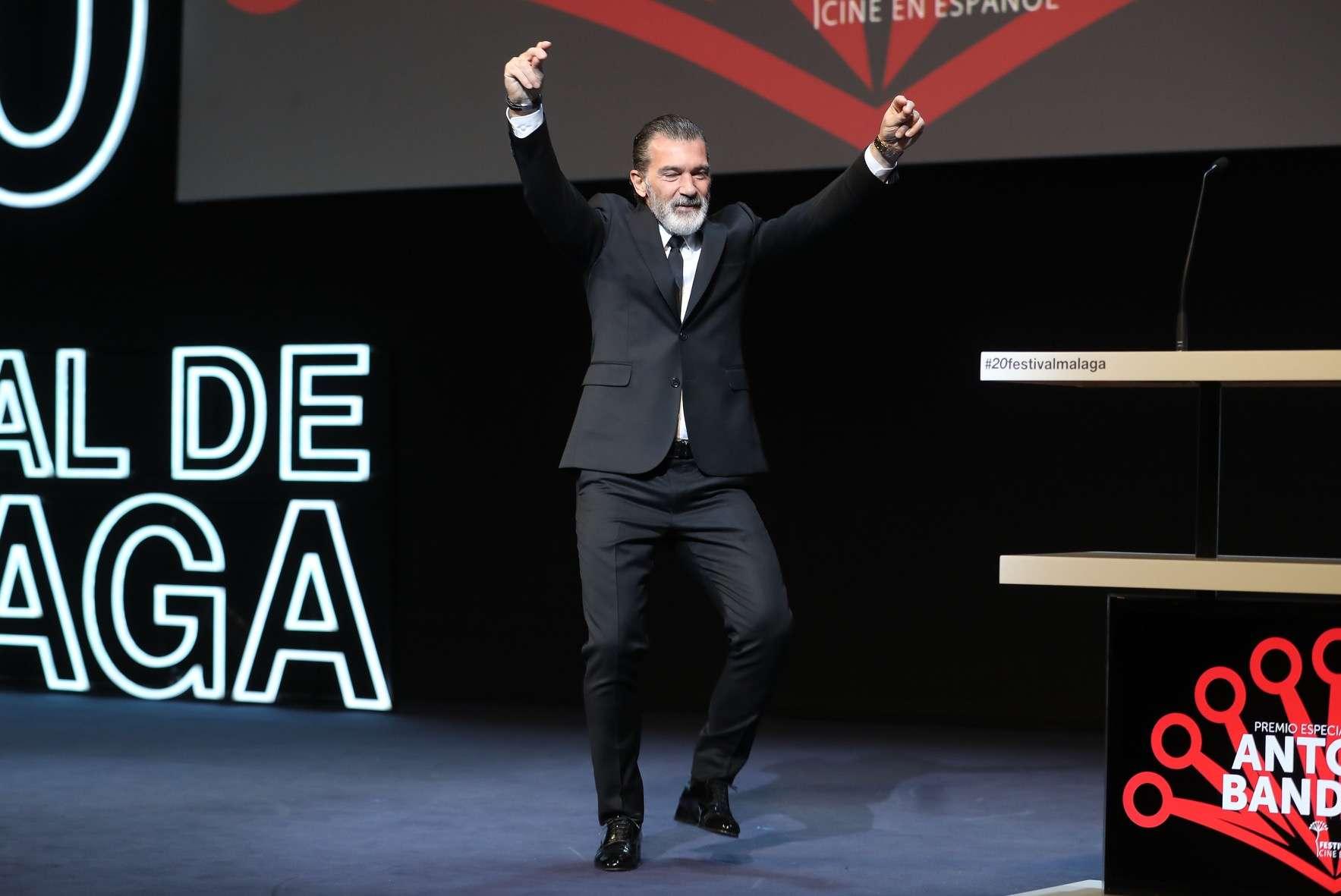 //Andalucia// 25-3-2017 MalagaEl actor Malagueño Antonio Banderas ha recibido en el Festival de MalagaCine en Español la Biznaga de ORO honorifica