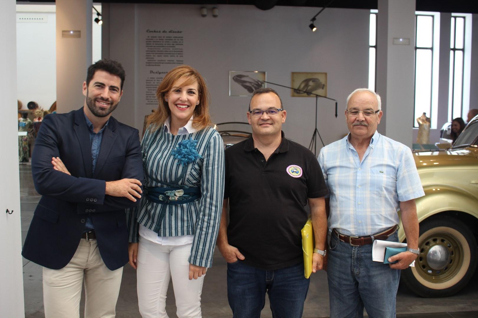 Alex Toledo, Patricia Rueda, Luis Miguel Rodríguez y Antonio Bravo Bravo