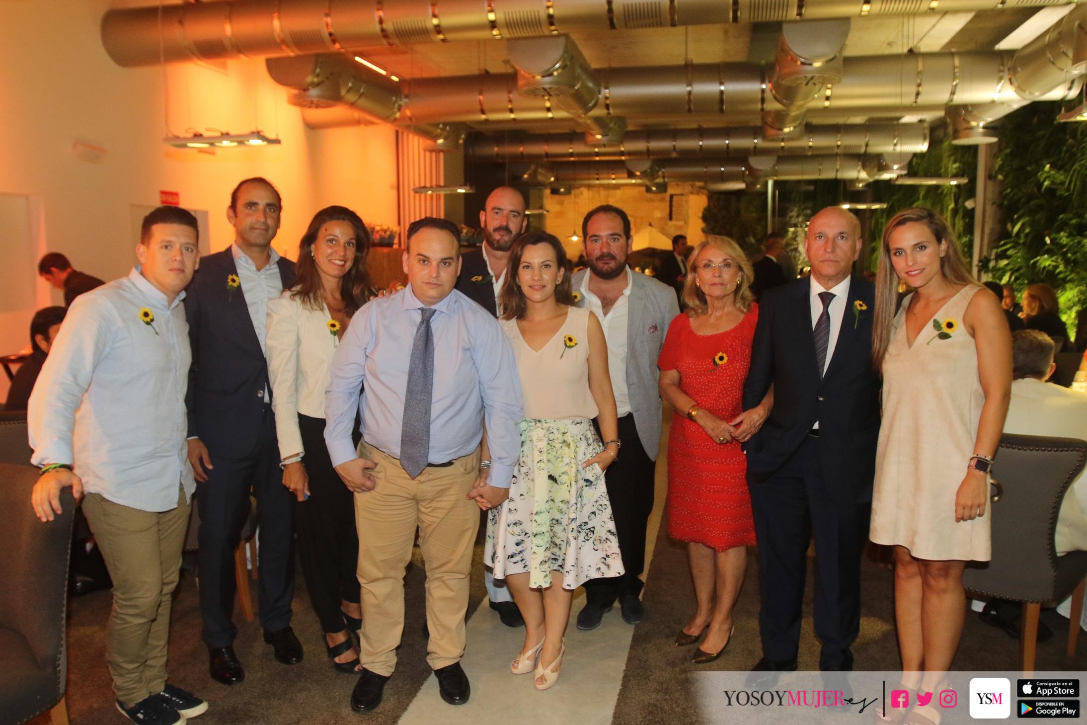 Cena del 25 aniversario de cudeca en el restaurante de for Clinica santa elena torremolinos