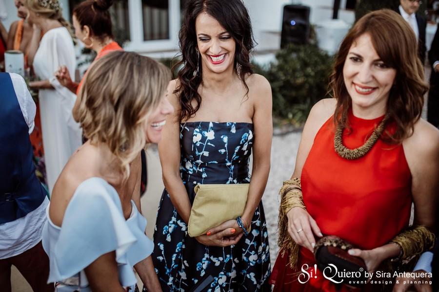 Teresa Bernal con Setareh e Irene