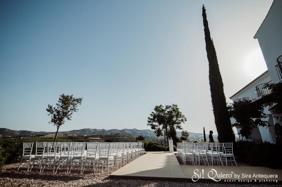 El lugar de la ceremonia