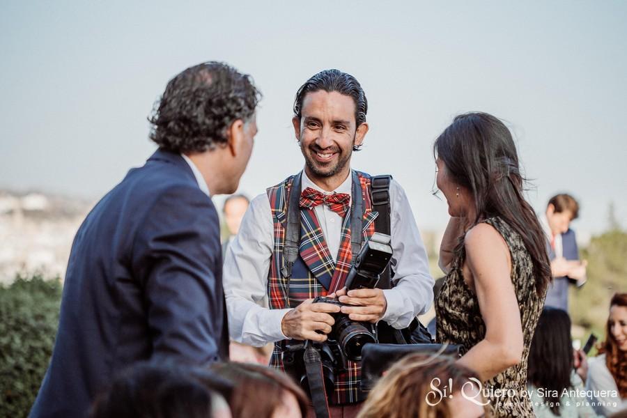Lorenzo Carnero con Susana Cecilia y Jose Luis Blanca