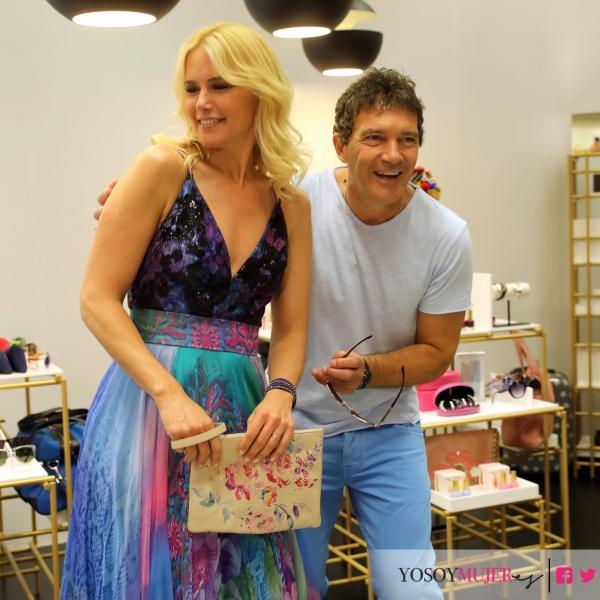 Antonio Baneras y Valeria Mazza presentan Satélite Shop