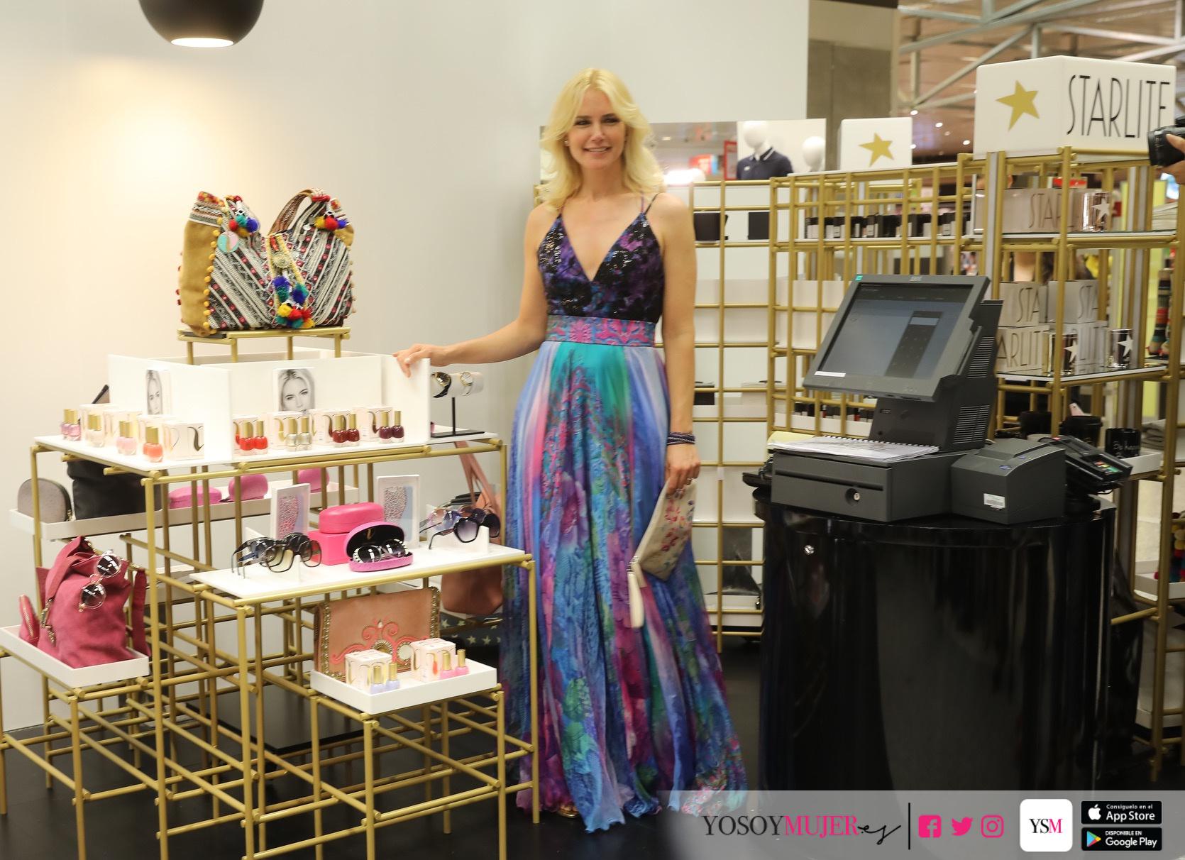 Antonio Banderas y Valeria Mazza presentan colección Startlite Shop