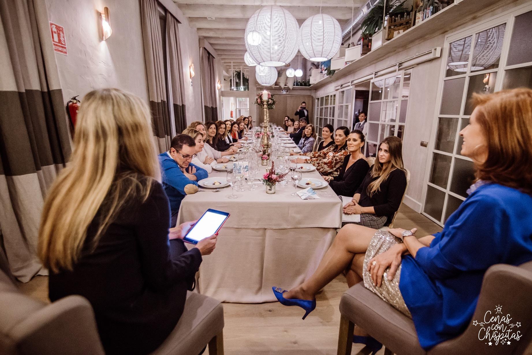 Marta Pérez Dorao Cenas con Chispitas