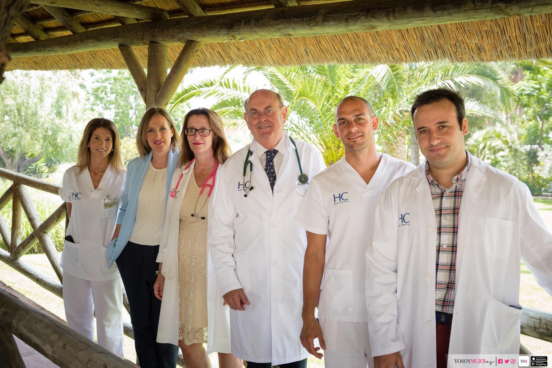 Equipo de Oncología de Hc Marbella