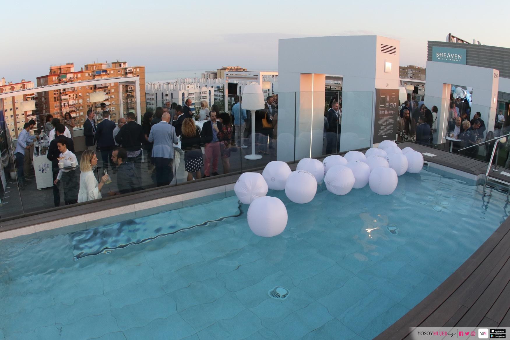 El Hotel Barceló Málaga Inaugura Su Terraza B Heaven Yo