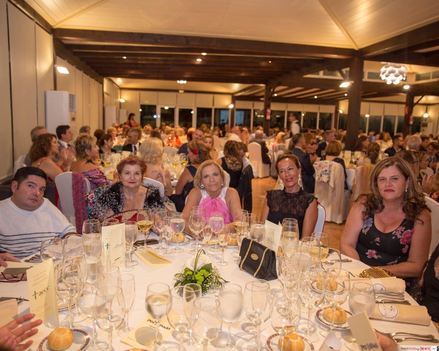 Cena de gala del mantón de Manila