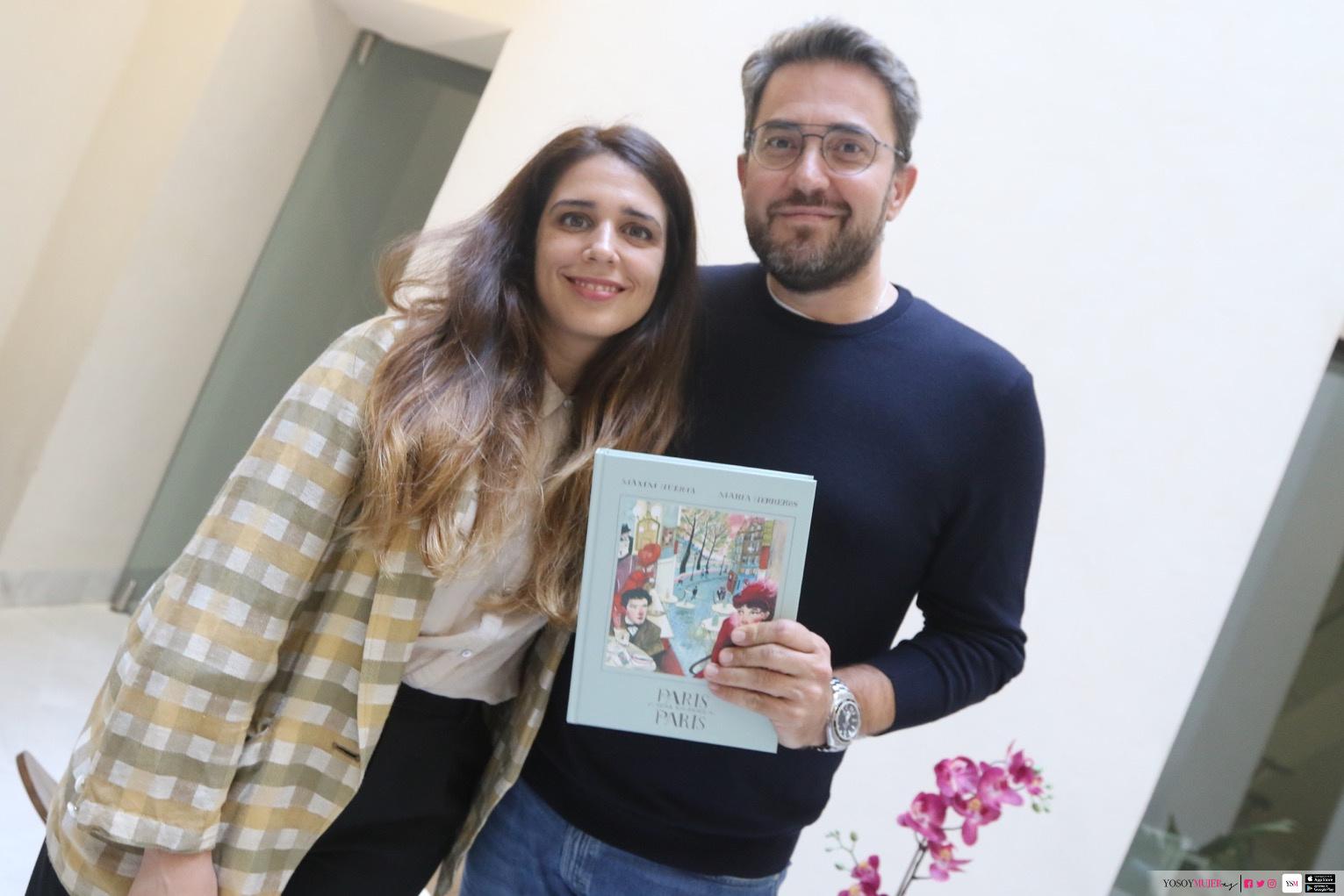 Màxim Huerta Y María Herreros Presentan En Málaga 'París