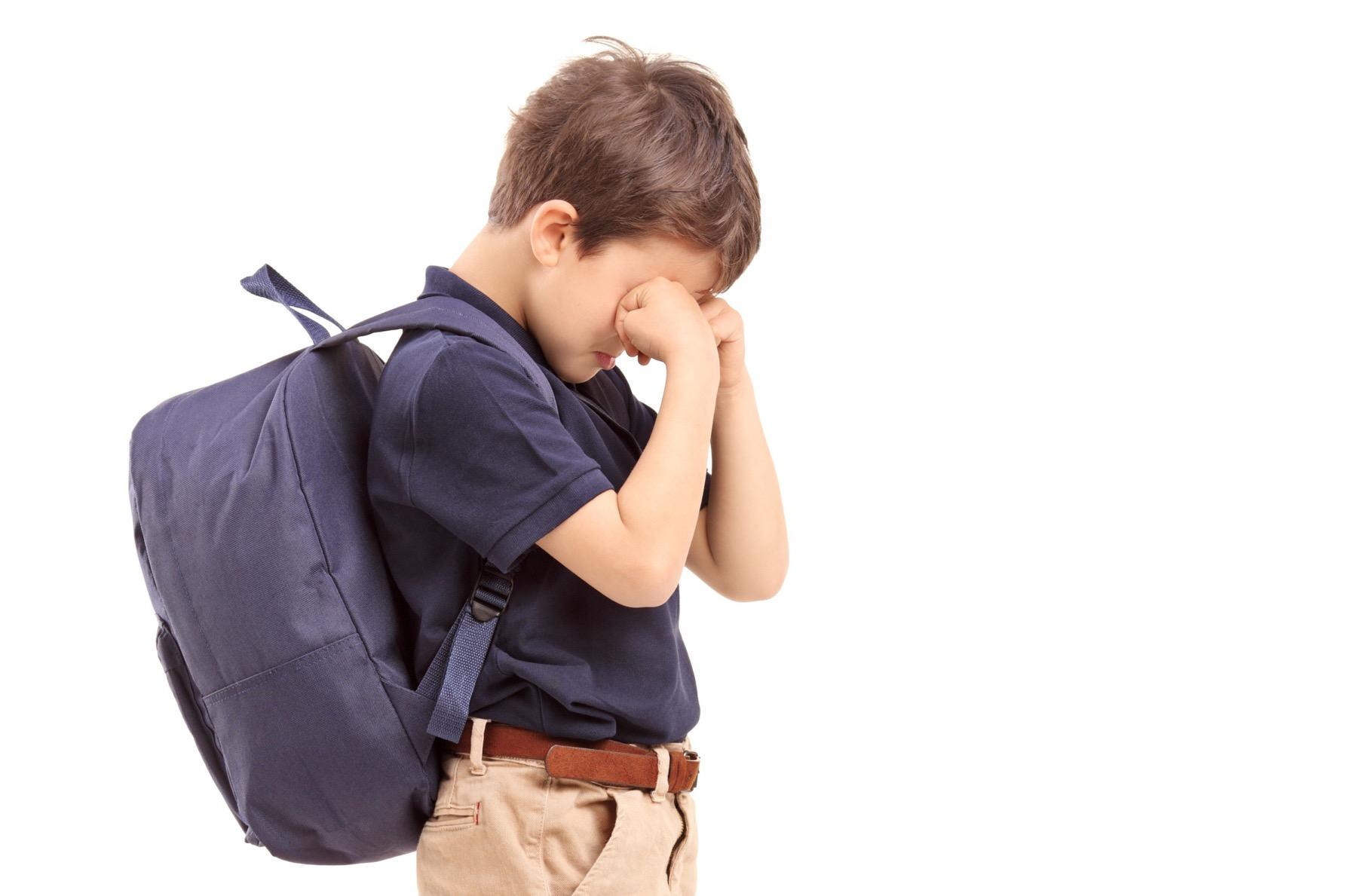por qué mi hijo llora