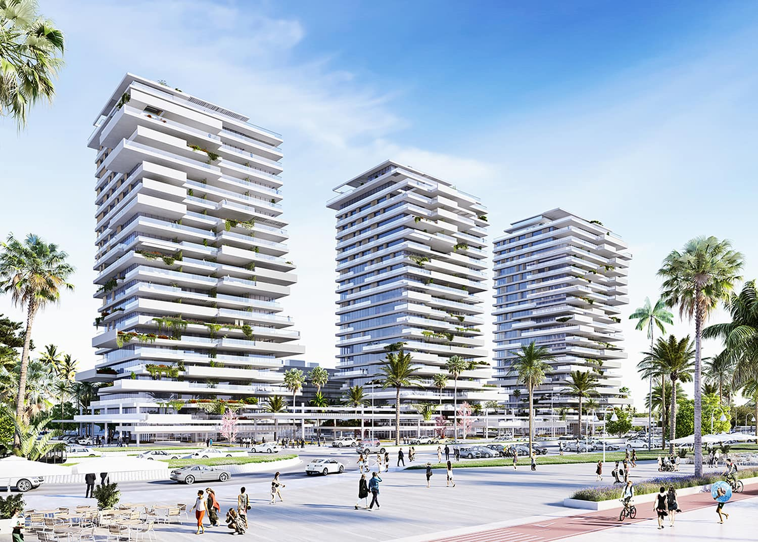 Picasso Towers